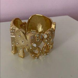 Lilly Pulitzer elephant cuff bracelet
